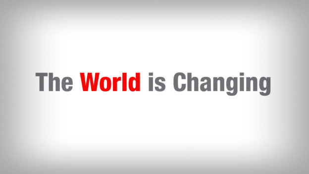 The-world-is-changing
