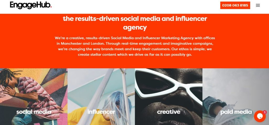 Engagehub.co.uk - best result driven agency UK