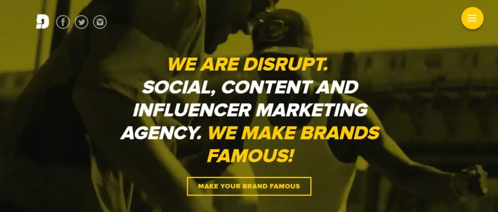 Disruptmarketing.co - Let them make your brand famous