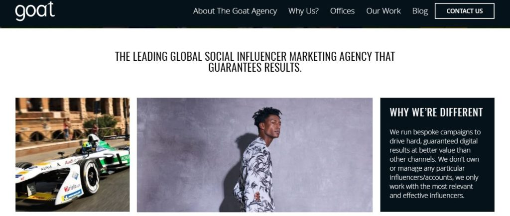 Goatagency.com - The leading marketing agency