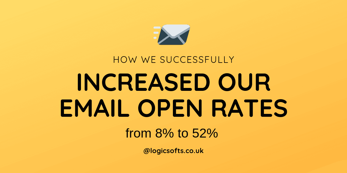 How We Successfully Increased Our Email Open Rates from 8% to 52%