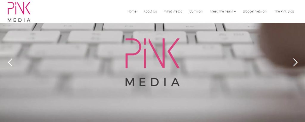 pinkmedia.xo.uk - best influencer marketing agency
