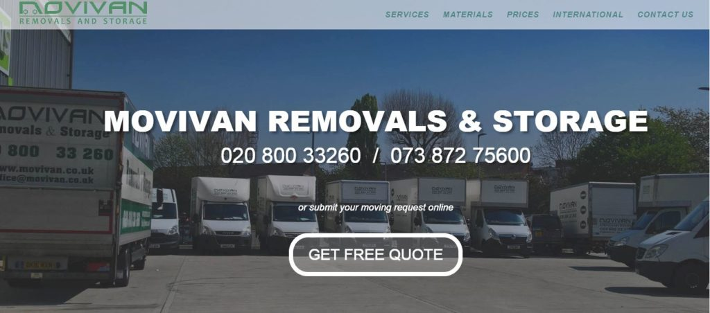Movivan Removals and Storage