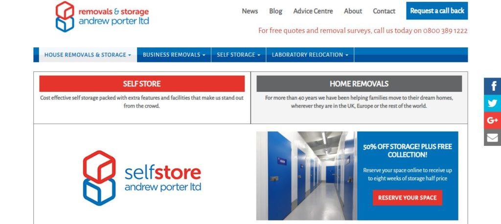 Andrew Porter Removals and Storage Ltd