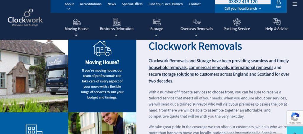 ClockWork Removals and Storage