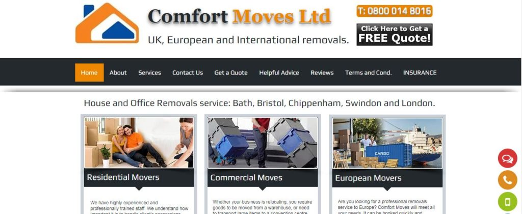 Comfort Moves Ltd
