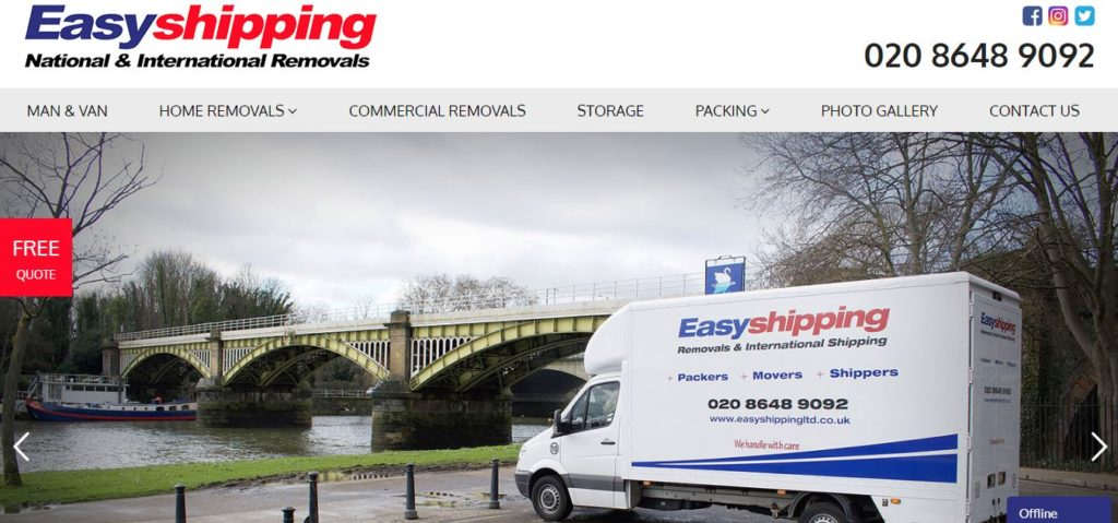 Easy Shipping National & International Removals