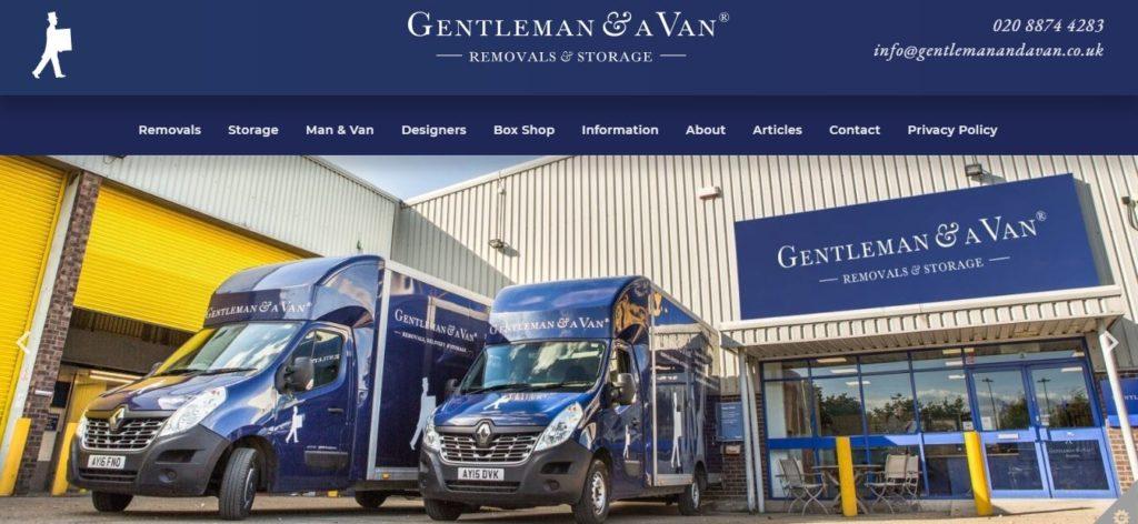 Gentleman and A Van Removals & Storage