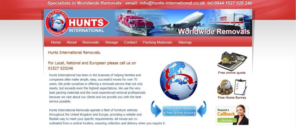 Hunts International Removals