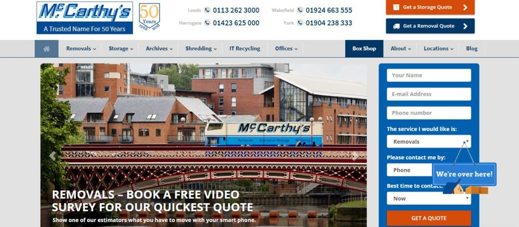 McCarthy's Storage and Removals