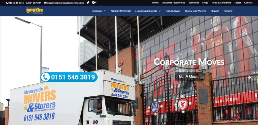Merseyside Moves and Storage