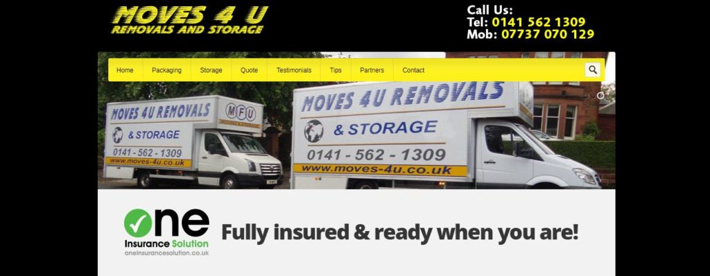 Moves 4 U Removals and Storage