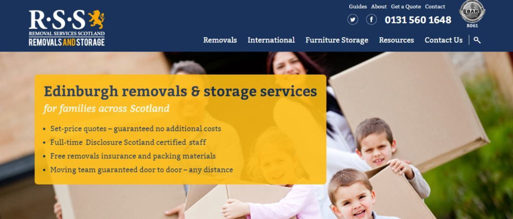 Removal Services Scotland Removals and Storage