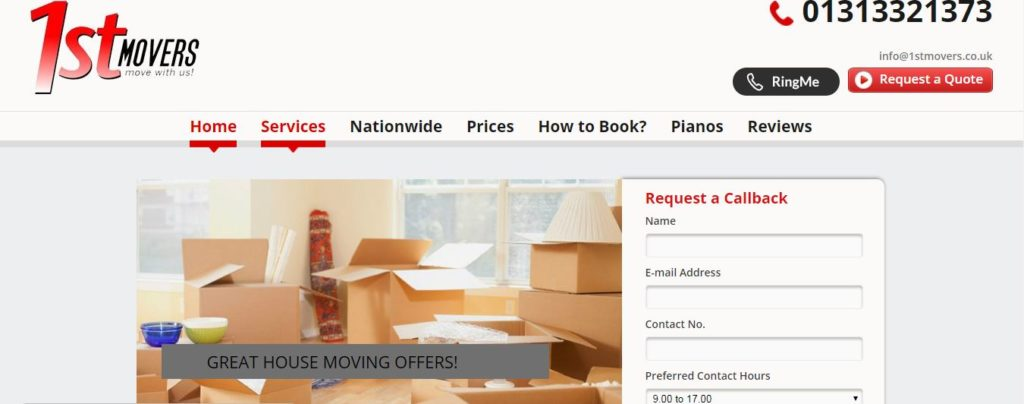 1st Mover Removals