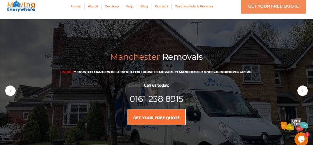 Moving Everywhere Manchester Removals