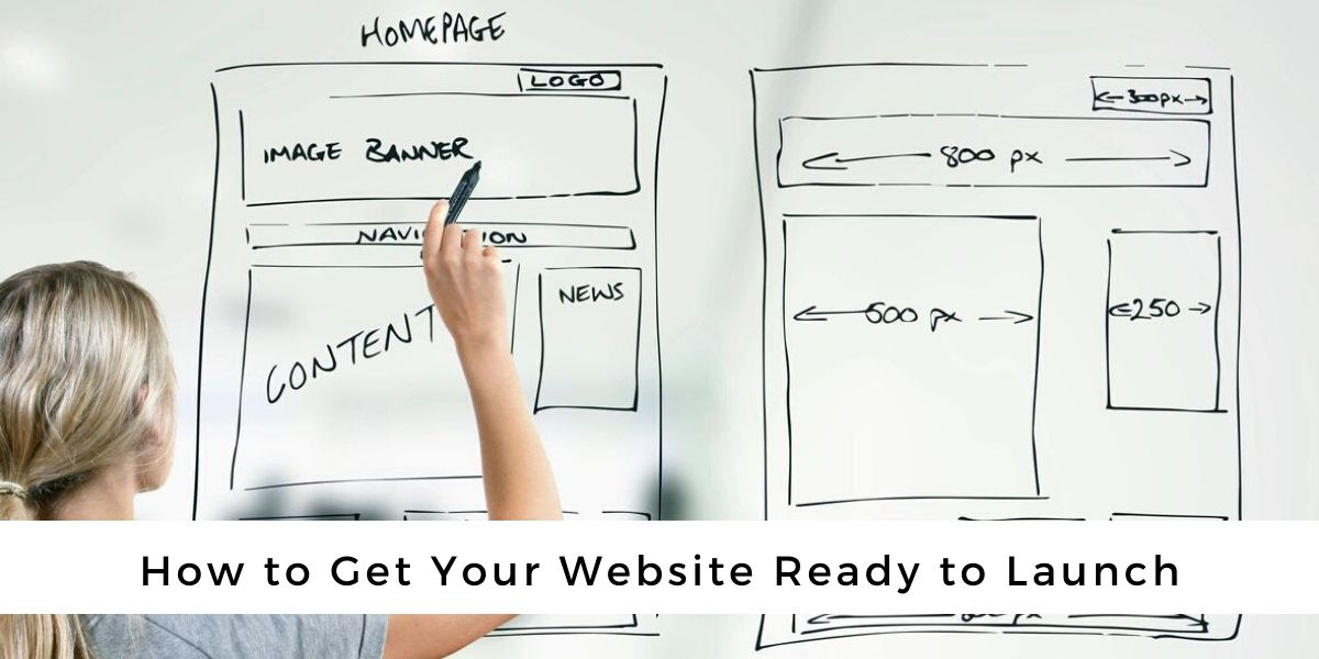 get website ready to launch