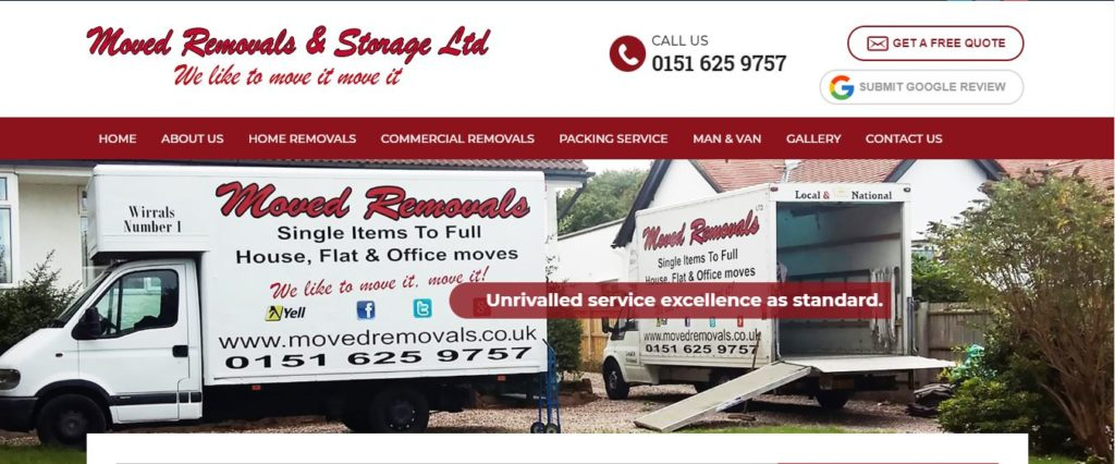 moved removals