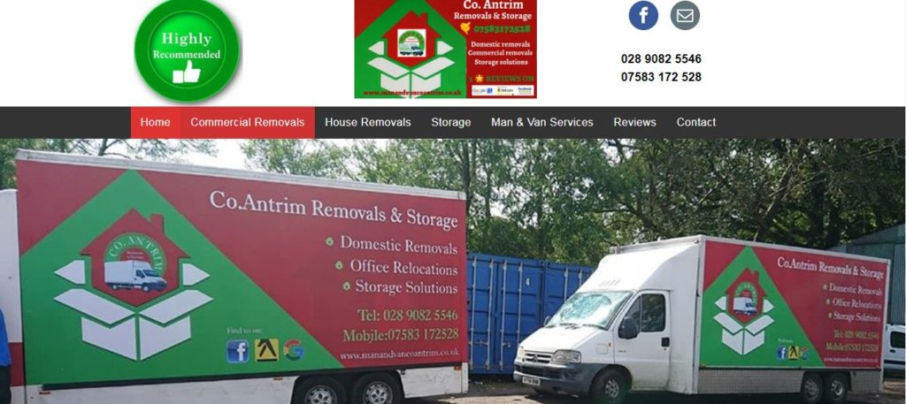 Man And Van Co Antrim Removals