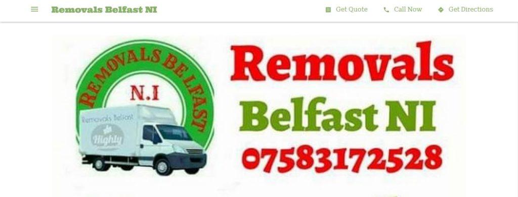 Removals Belfast