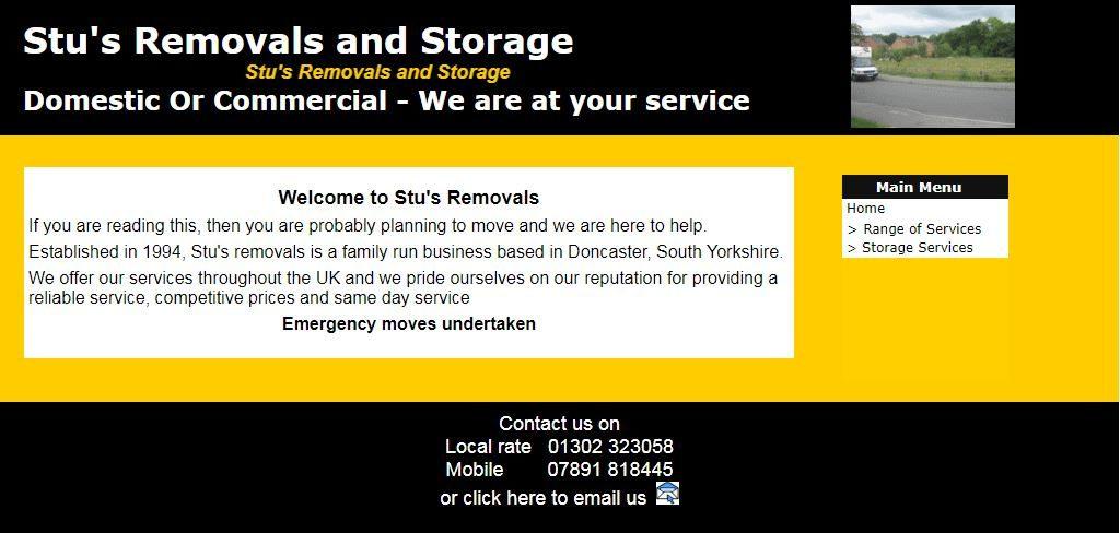 Stu's Removals And Storage