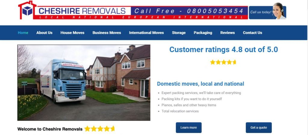 Cheshire Removals
