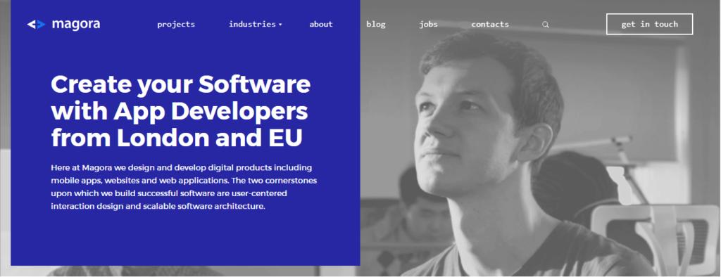 Magora software development companies london
