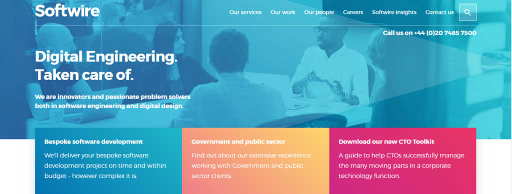 Softwire development companies london
