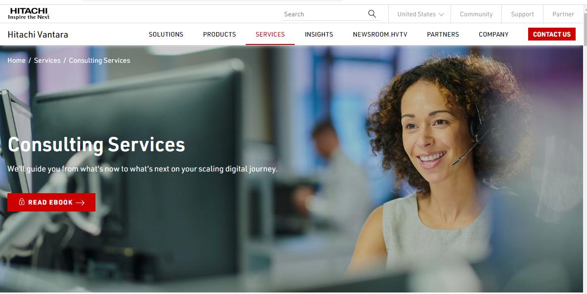 Hitachi cloud Consulting