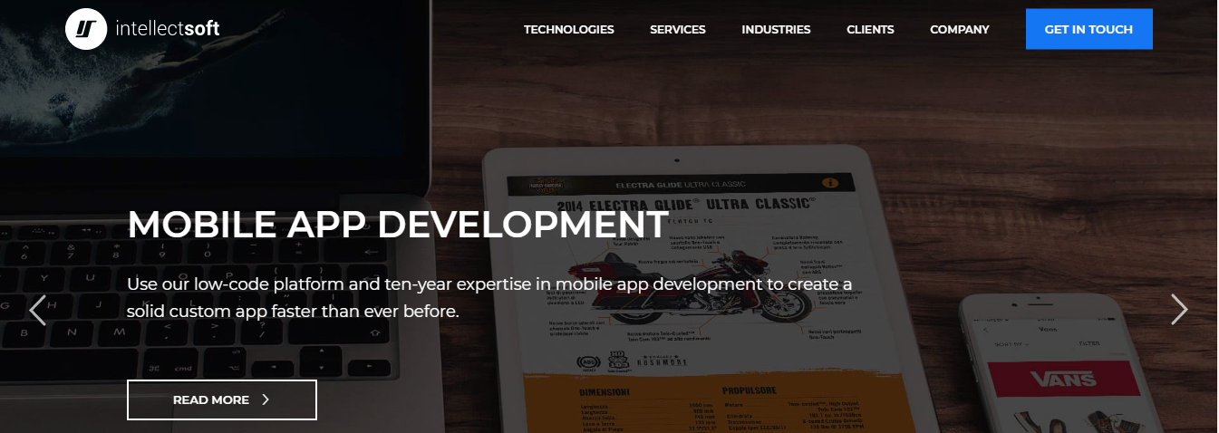 Intellectsoft php development companies