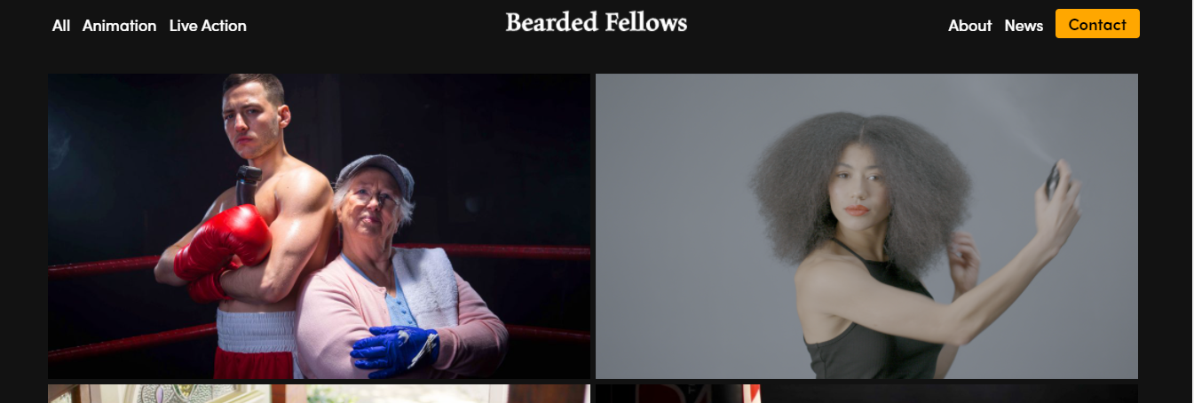 bearded fellows video production companies manchester