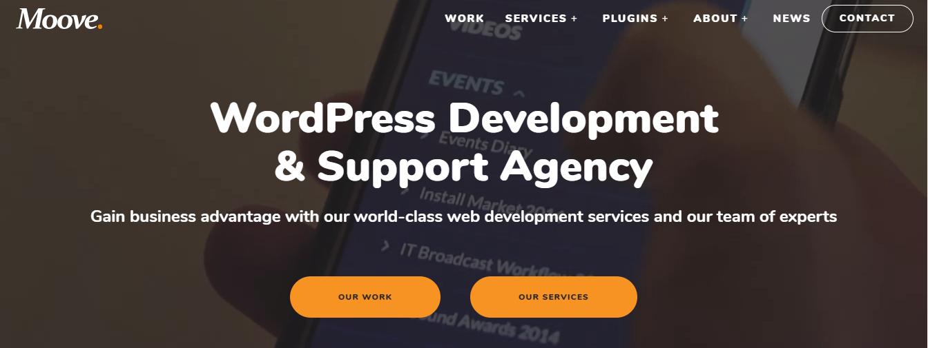 moove php development companies
