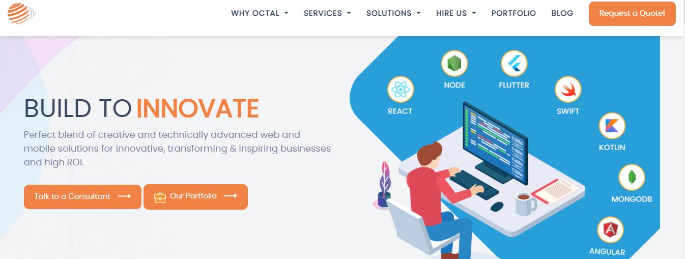 octal web development companies