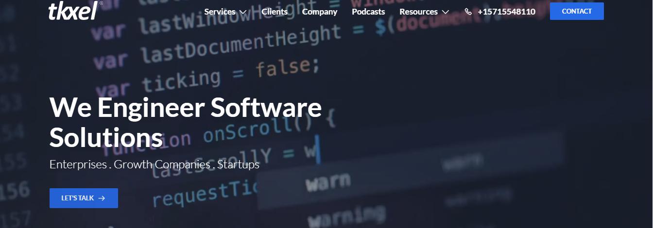 tkxel web development companies
