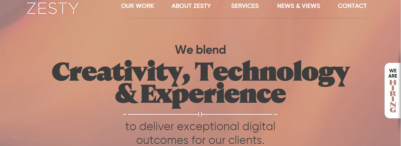 zesty php development companies