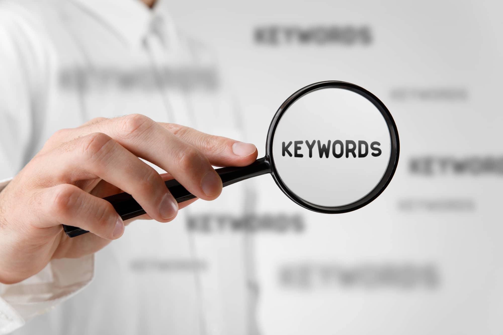 keywords seo skills