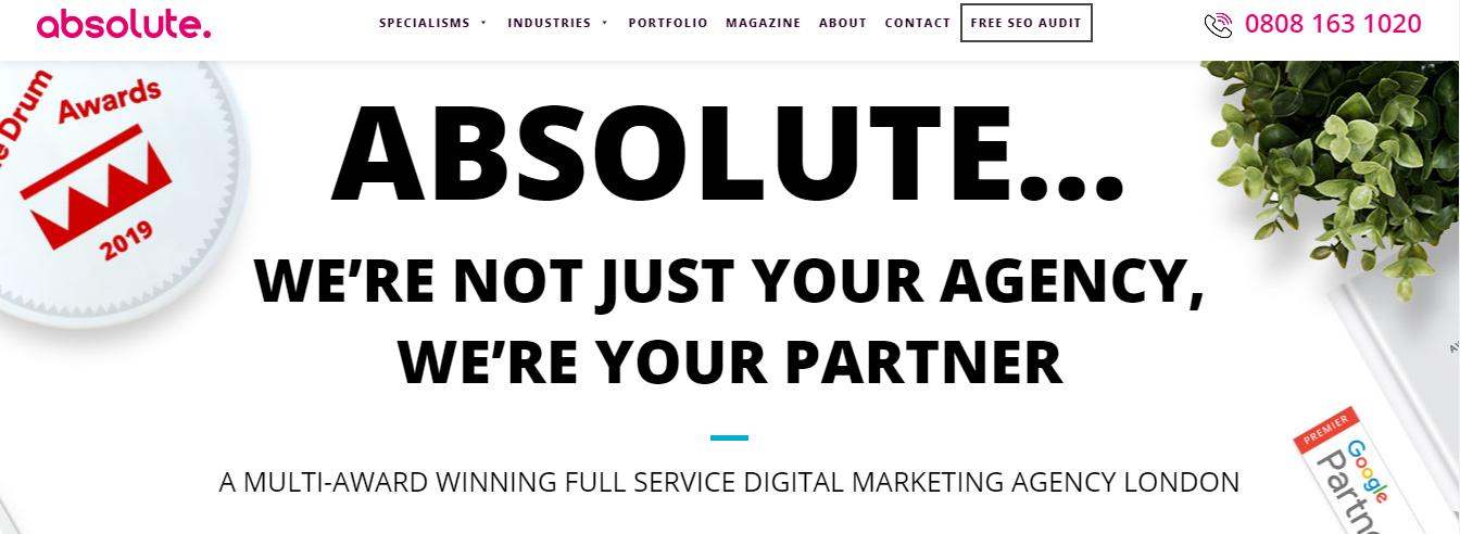 absolute seo agencies london