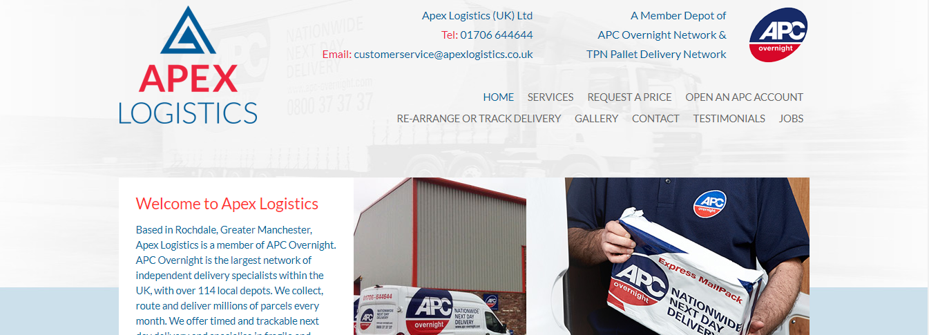apex freight forwarders uk