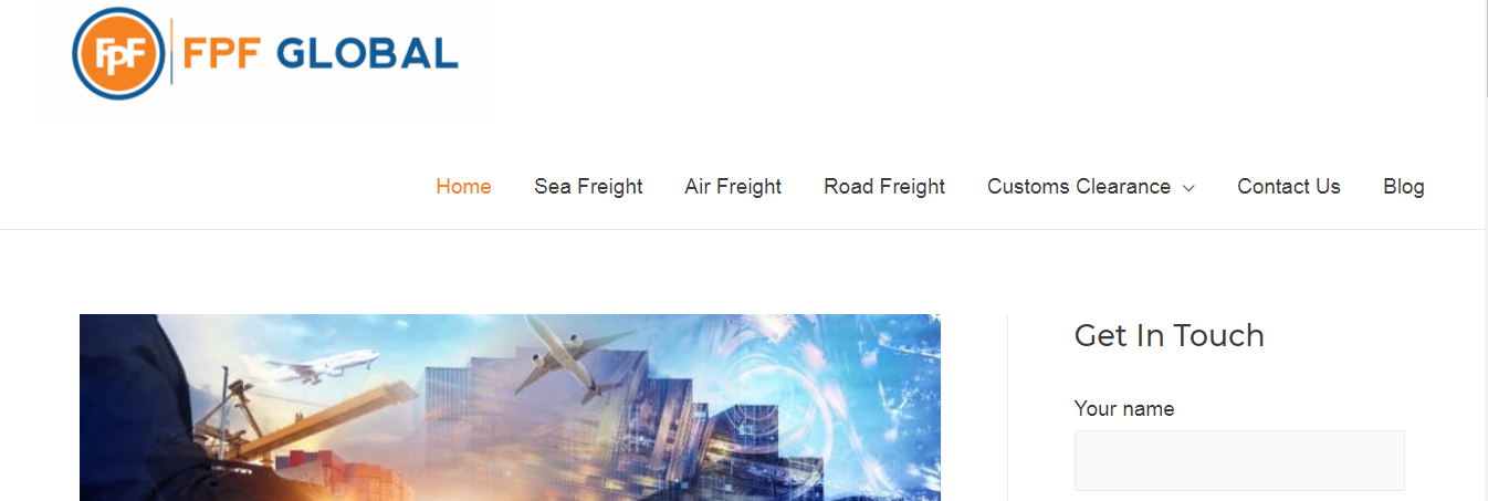 fpf freight forwarders uk