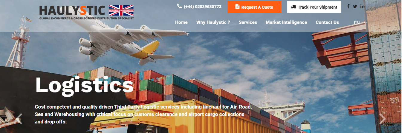 haulystic freight forwarders uk