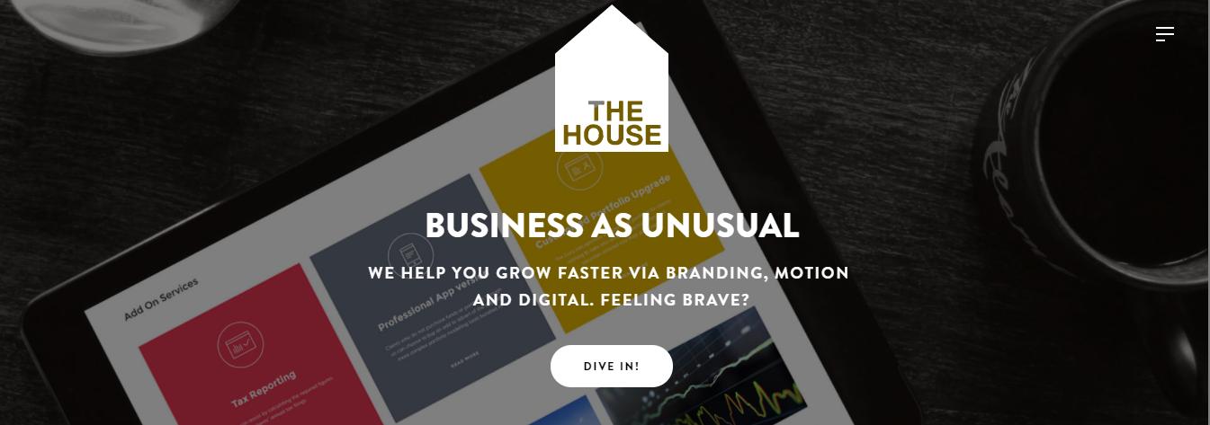 thehouse branding agencies london