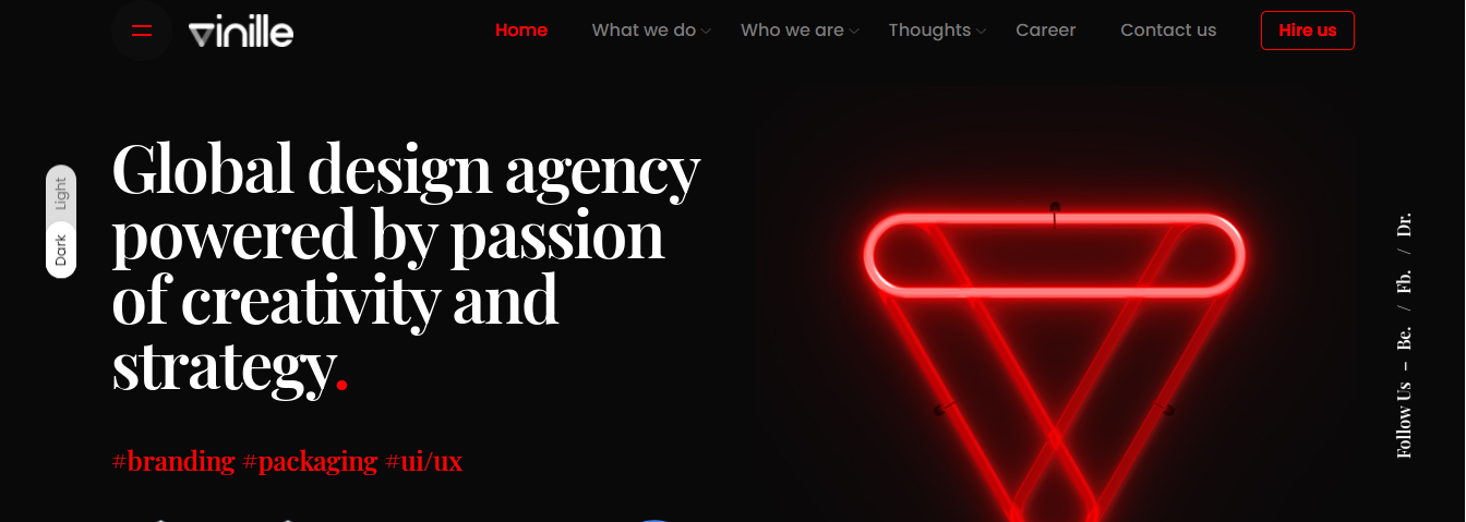 vinille branding agencies london